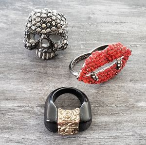 Queen Of The Damned Statement Ring Bundle
